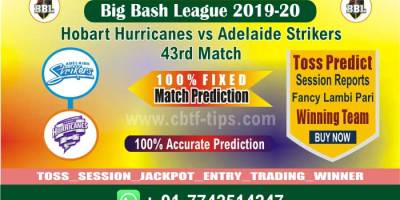 BBL 2019-20 match prediction